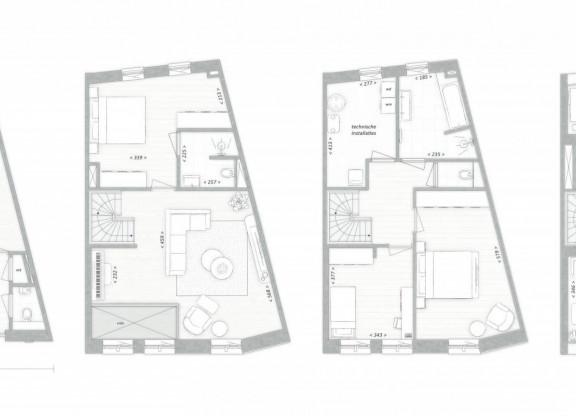Stadsvilla's D