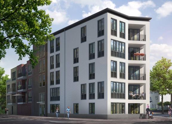 Centrumappartement   type A   De Smidse
