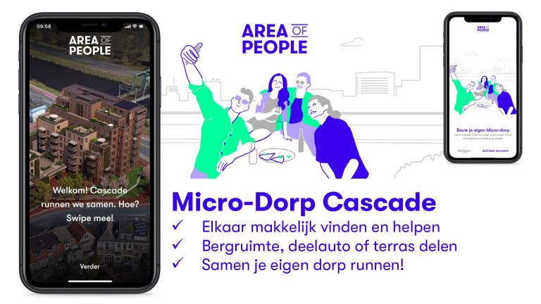 Run je eigen micro-dorp met de app van AREA of PEOPLE