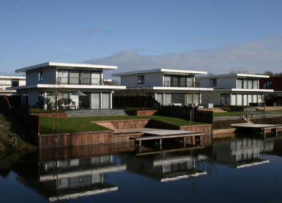 VERKOCHT 12 design villa's aan de WaterAs te Dronten West