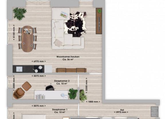 Limba, 3-kamer 86 m²