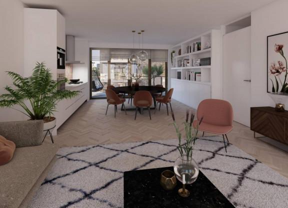 Driekamer appartement| Type C