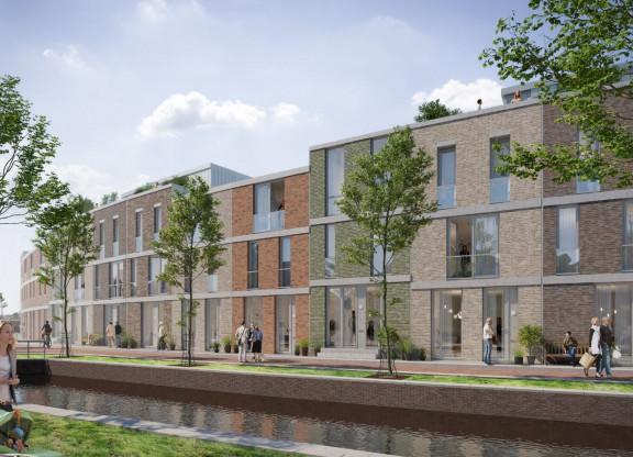 Kloosterveste Oostergracht rijwoningen - fase 3