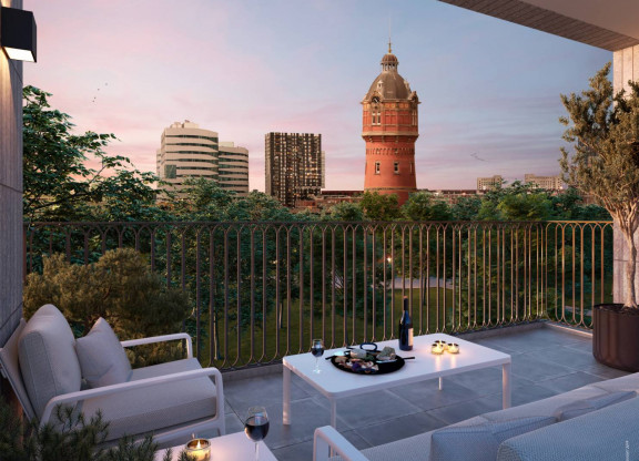 Appartementen 50 - 60 m²