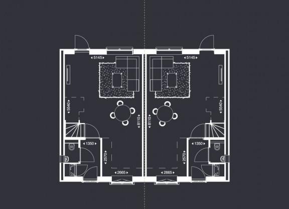 Stadse Twee-onder-een-kap-woningen - C1