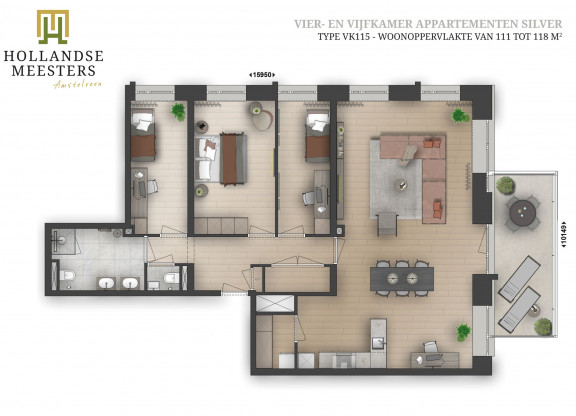 09. Koop: 4 en 5-kamer appartement SILVER