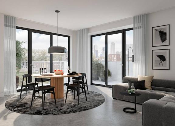 Torenappartement hoog medium