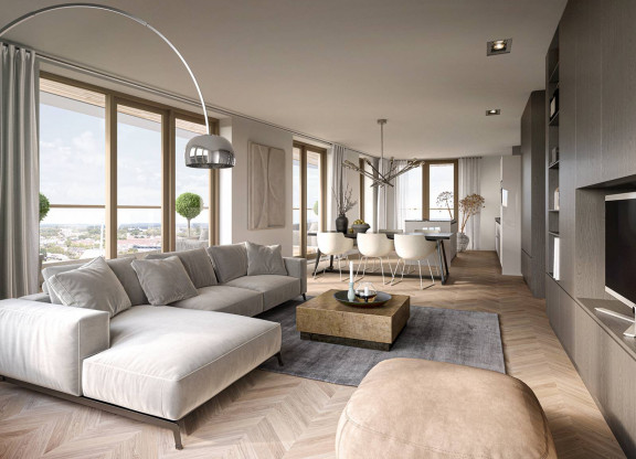 Type A2 - 3-kamerappartement