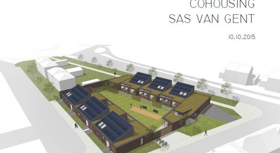 Co-Housing 't Sasse Hofje Sas van Gent