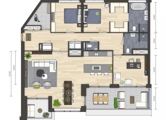 Penthouse type O
