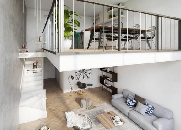 Two-floor apartment