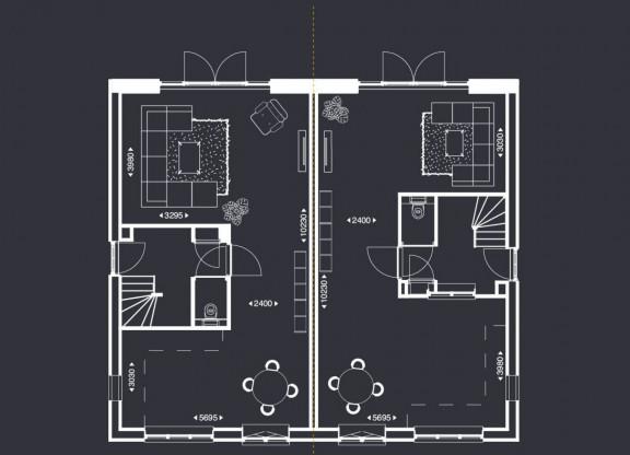 Luxe Twee-onder-een-kapwoningen - A1