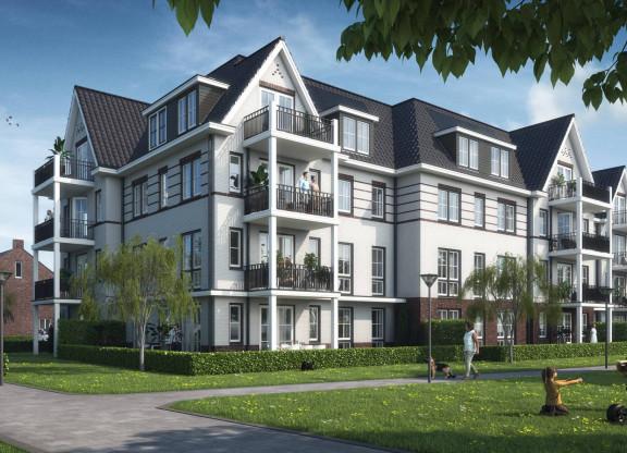 Driekamer-hoek-appartementen groenzijde