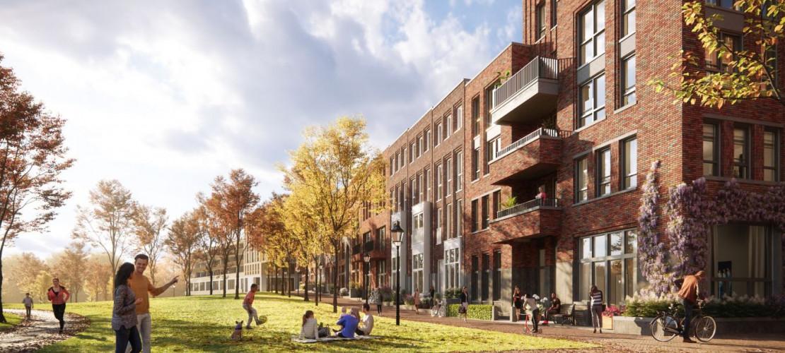 Centraal in Utrecht: Parkblok - Hooge Steenen