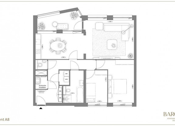 Appartementtype A8