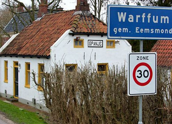 De Laan Zuid in Warffum