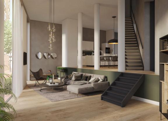 Two floor apartment type 3